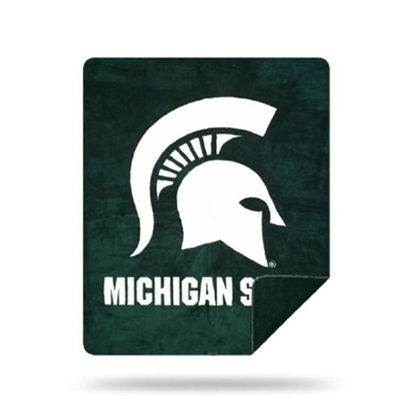 Picture of NCAA Sliver Knit Throw Blanket - Michigan State