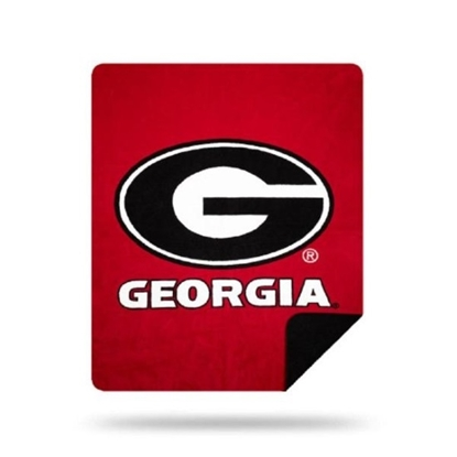 Picture of NCAA Sliver Knit Throw Blanket - Georgia