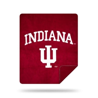 Picture of NCAA Sliver Knit Throw Blanket - Indiana