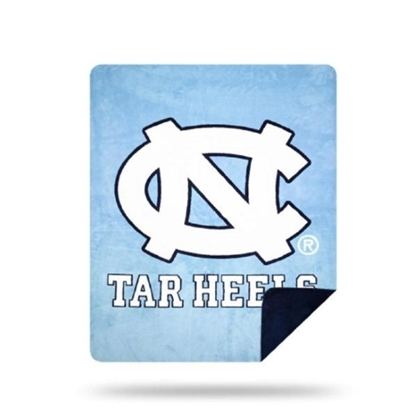 Picture of NCAA Sliver Knit Throw Blanket - UNC