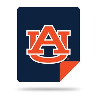 Picture of NCAA Sliver Knit Throw Blanket - Auburn