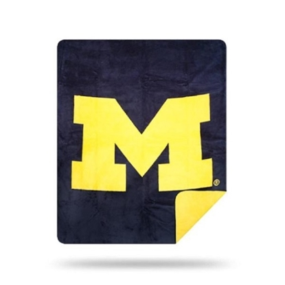 Picture of NCAA Sliver Knit Throw Blanket - Michigan
