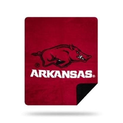 Picture of NCAA Sliver Knit Throw Blanket - Arkansas