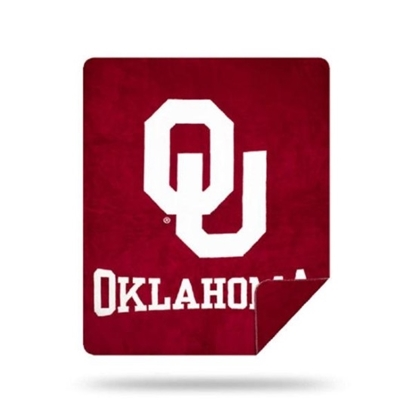 Picture of NCAA Sliver Knit Throw Blanket - Oklahoma