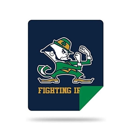 Picture of NCAA Sliver Knit Throw Blanket - Notre Dame