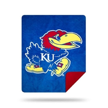 Picture of NCAA Sliver Knit Throw Blanket - Kansas