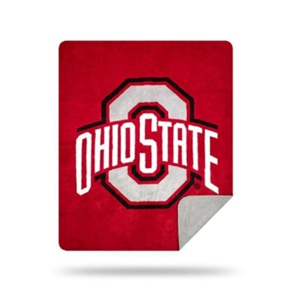 Picture of NCAA Sliver Knit Throw Blanket - Ohio State
