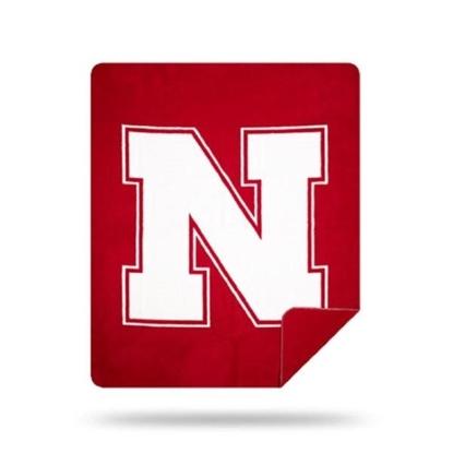 Picture of NCAA Sliver Knit Throw Blanket - Nebraska