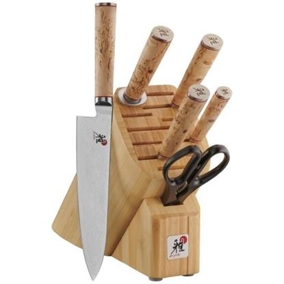Picture of Miyabi Birchwood SG2 7-Piece Knife Block Set