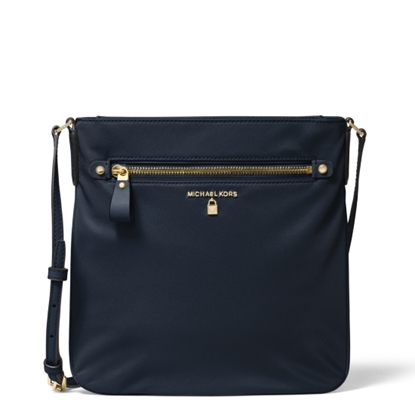 Picture of Michael Kors Nylon Kelsey Large Crossbody - Admiral