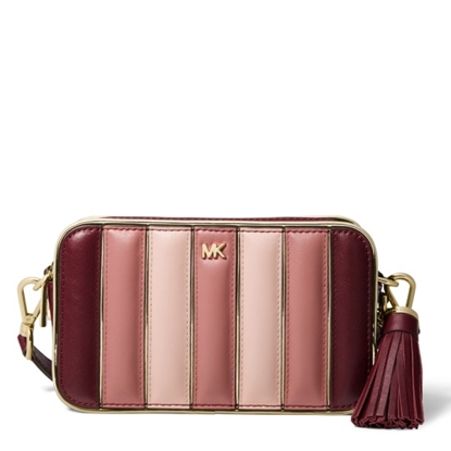 Picture of Michael Kors Small Camera Bag - Oxblood Multi