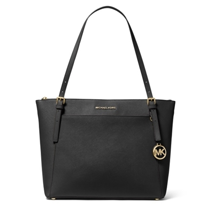 Picture of Michael Kors Voyager Large E/W Top-Zip Tote - Black