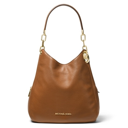 Picture of Michael Kors Lillie Large Chain Shoulder Tote - Luggage