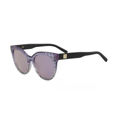 Picture of MCM Ladies' Sunglasses - Purple/Sand Iridescent Visetos