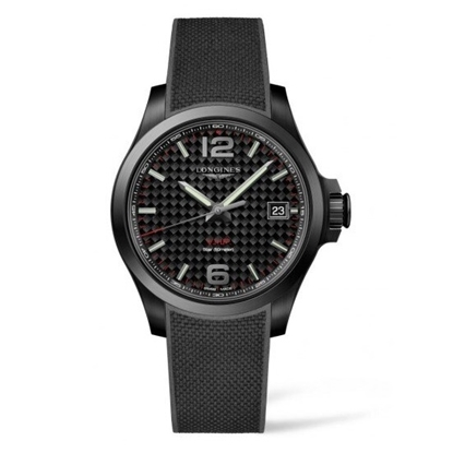 Picture of Longines Conquest VHP Black Strap Watch