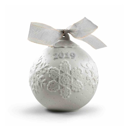 Picture of Lladro® 2019 Christmas Ball Ornament