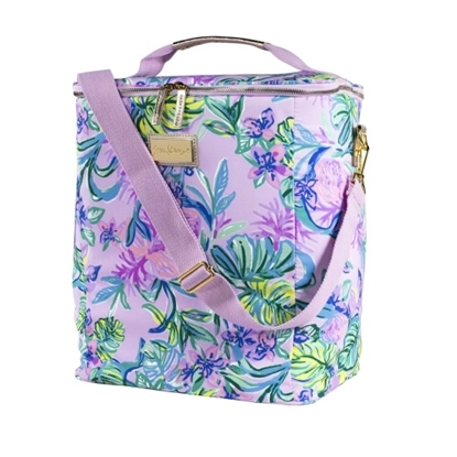 Picture of Lilly Pulitzer Wine Carrier - Mermaid in the Shade