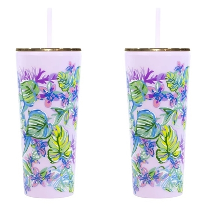 Picture of Lilly Pulitzer Set of 2 Tumblers - Mermaid in the Shade