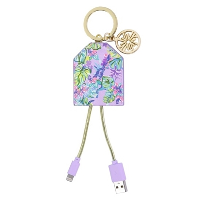 Picture of Lilly Pulitzer Charging Tag - Mermaid in the Shade