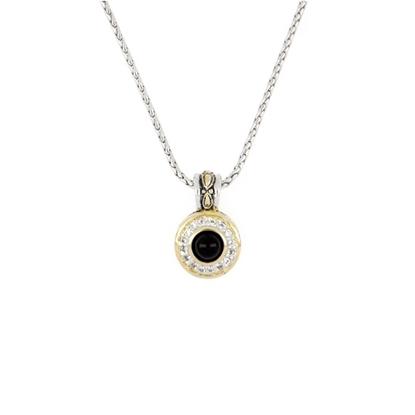 Picture of John Medeiros Perola Genuine Black Onyx Pendant