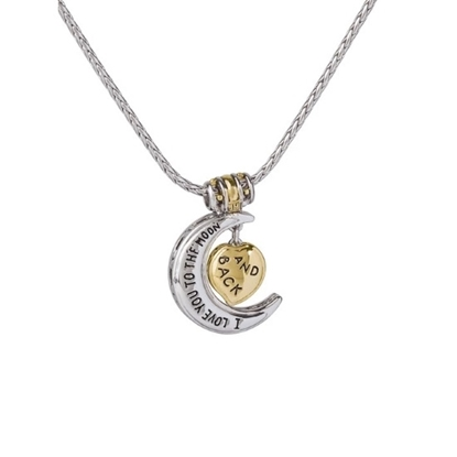Picture of John Medeiros 'I Love You to the Moon and Back' Pendant