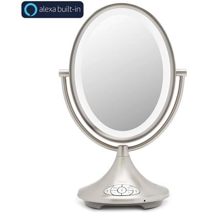 Picture of iHome Alexa-Enabled Rechargeable Vanity Speaker
