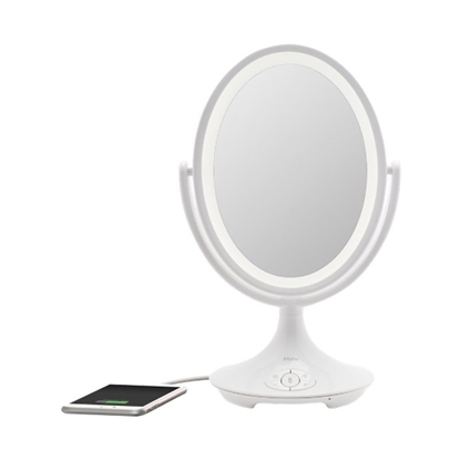 Picture of iHome Vanity Mirror with Bluetooth® Speaker & Speakerphone