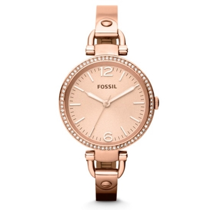 Picture of Fossil Georgia Glitz Rose Gold-Tone Stainless Steel Watch