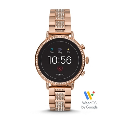 Picture of Fossil Gen 4 Venture HR Rose Gold-Tone Smartwatch