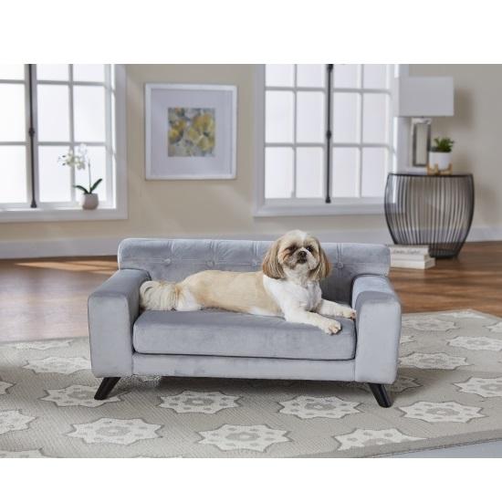 Picture of Enchanted Home Pet Mason Pet Sofa - Grey