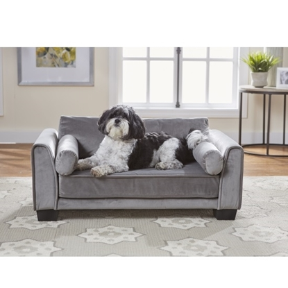 Picture of Enchanted Home Pet Jordan Pet Sofa - Dark Grey