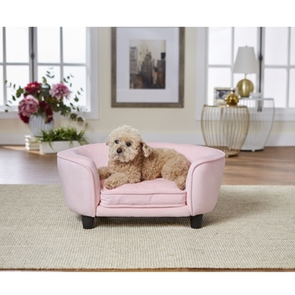 Picture of Enchanted Home Pet Coco Pet Sofa - Pink