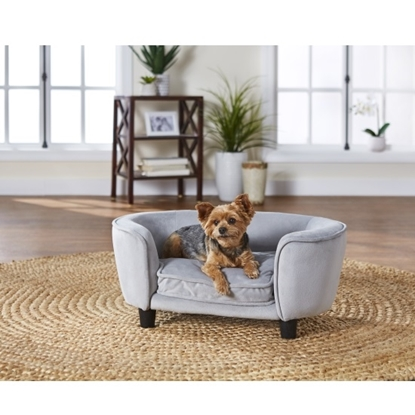 Picture of Enchanted Home Pet Coco Pet Sofa - Light Grey