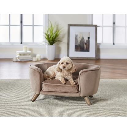Picture of Enchanted Home Pet Romy Pet Sofa - Stone