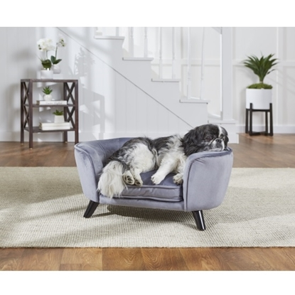 Picture of Enchanted Home Pet Romy Pet Sofa - Pewter