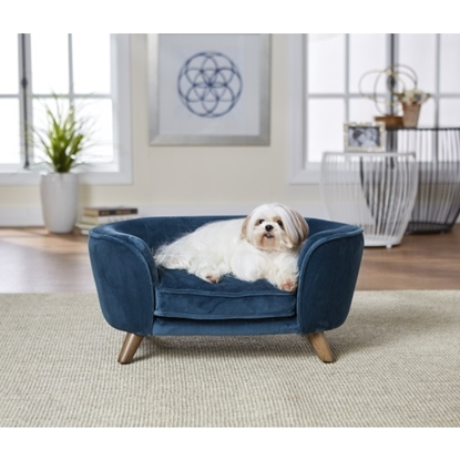 Picture of Enchanted Home Pet Romy Pet Sofa - Peacock