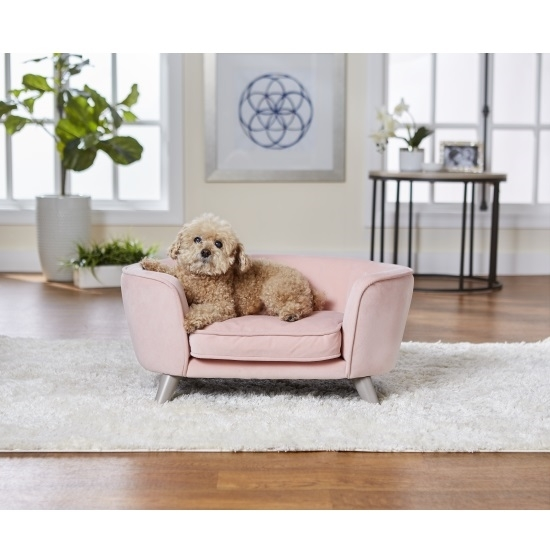 Picture of Enchanted Home Pet Romy Pet Sofa - Blush