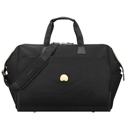 Picture of Delsey Montrouge Wide Mouth Carry-On Duffle Bag - Black