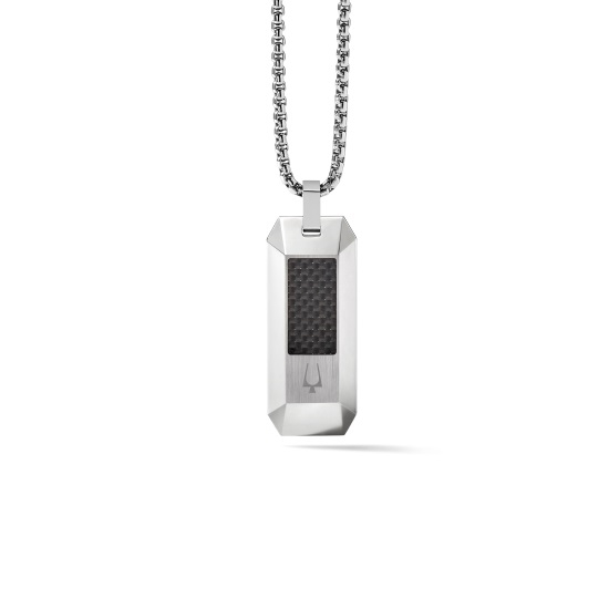 Picture of Bulova Precisionist Dogtag Necklace