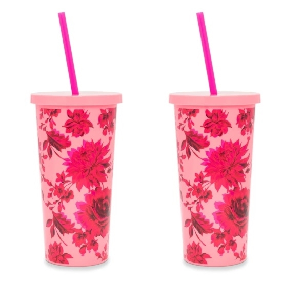 Picture of Ban.do Set of 2 Sip Sip Tumblers - Potpourri