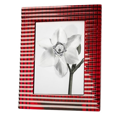 Picture of Baccarat Eye 5x7 Picture Frame - Red