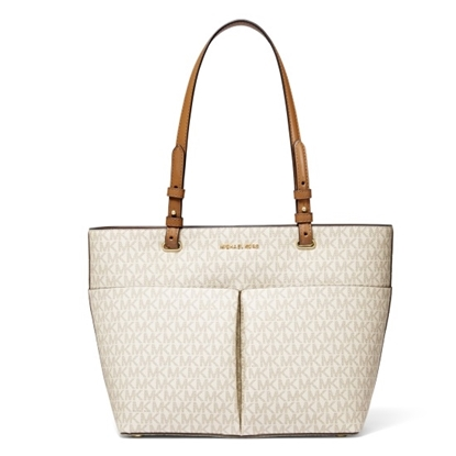 Picture of Michael Kors Bedford Medium Logo Tote Bag