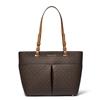 Picture of Michael Kors Bedford Medium Logo Tote Bag