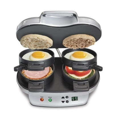 Picture of Hamilton Beach Dual Breakfast Sandwich Maker