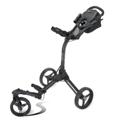 Picture of BagBoy® Triswivel II Push Cart - Black/Red