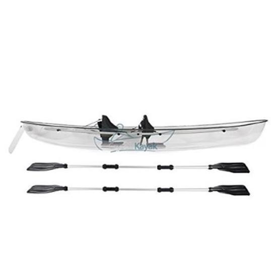 Picture of Crystal Kayak Transparent Lexan Clear Canoe/Kayak