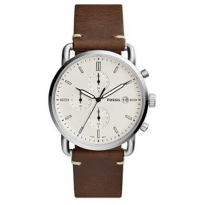 Picture of Fossil Commuter Chronograph Brown Leather Watch