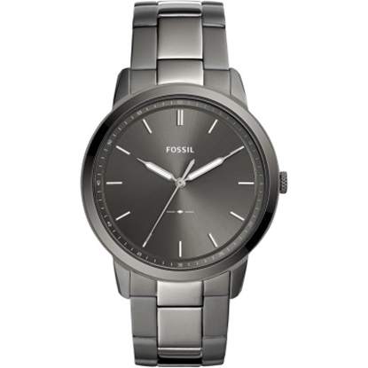 Picture of Fossil Men's Minimalist Gunmetal-Tone Stainless Steel Watch