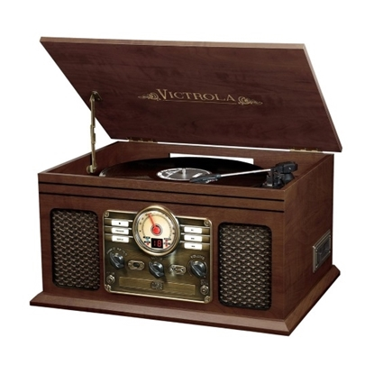 Picture of Victrola 6-in-1 Nostalgic Bluetooth® Record Player