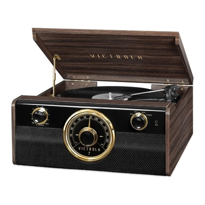 Picture of Victrola Metropolitan Bluetooth® Record Player with Radio